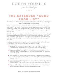 GWYG Poop List Image